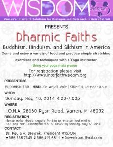 Dharmic Faiths